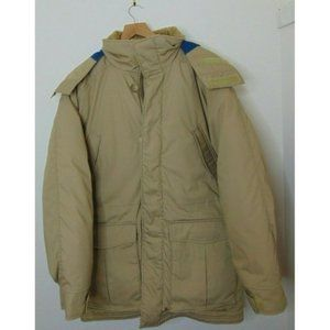 LL Bean M Goose Down Parka Jacket Puffer USA Hood